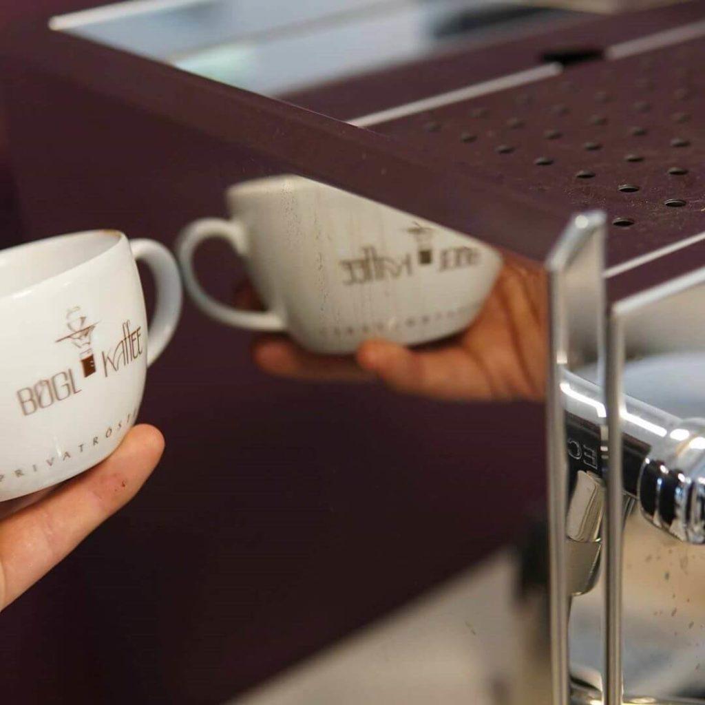 Kaffee Tasse der Bögl Kaffeerösterei